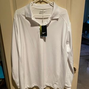Nike Golf Long sleeve shirt large NWT